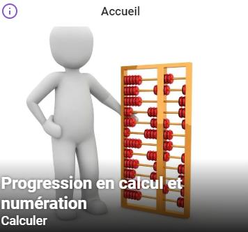 Progression en calcul et numération.