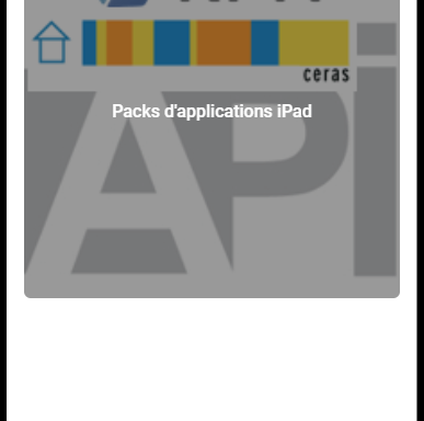 Packs d'applications