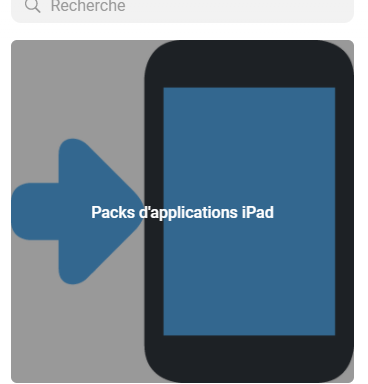 Packs d'applications
